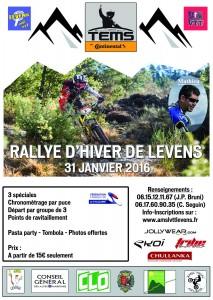 Rallye d'Hiver VTT Levens 2016 @ Levens